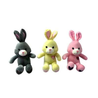 9寸爱心长耳兔