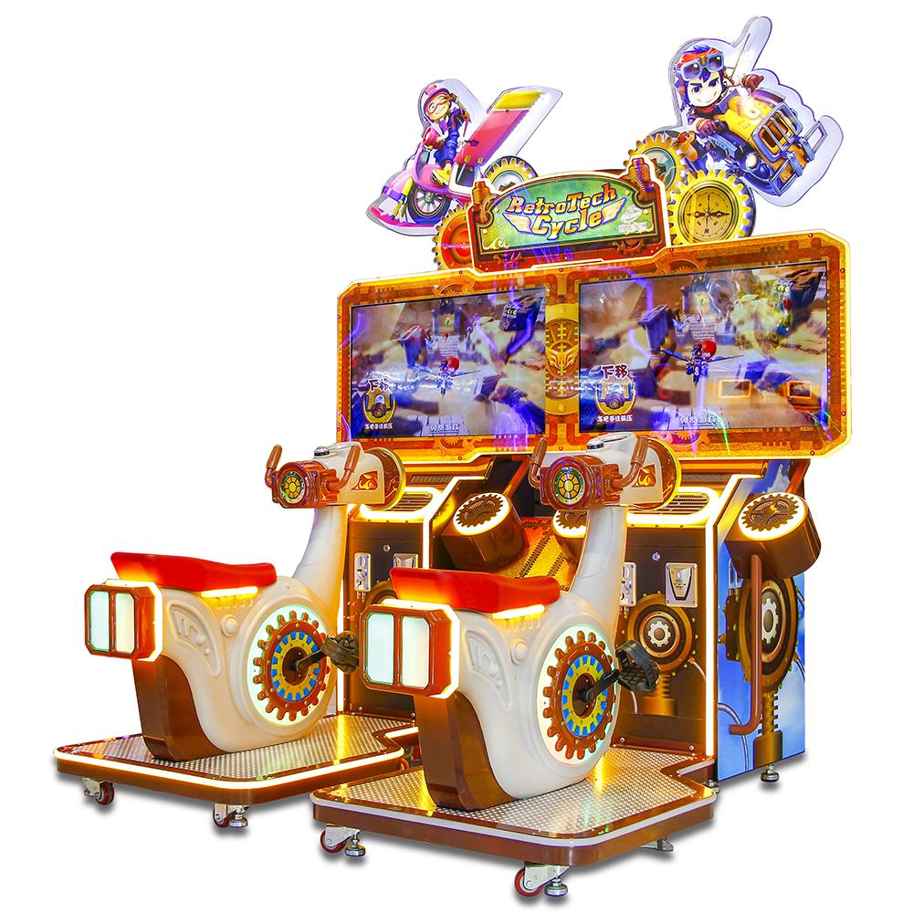 大成动漫【飞翔单车-儿童版】360度自由飞翔,碰气球夺彩票