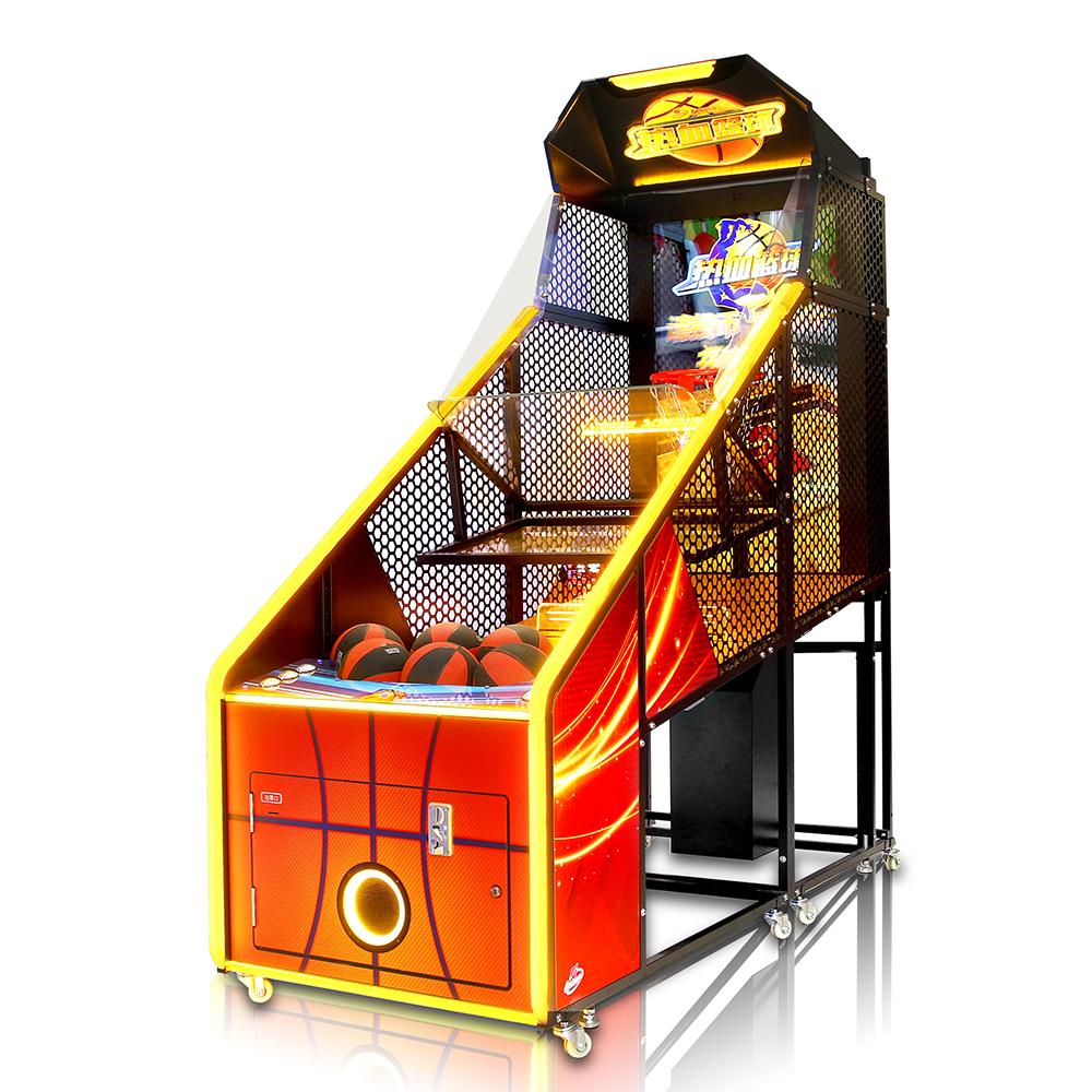 大成动漫【热血篮球】更高品质的大屏幕游戏互动新型篮球机